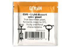 Дрожжи винные Gervin GV6 Light Dessert Wine